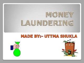 Anti money laundering