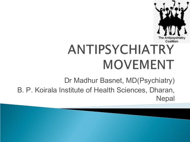 Antipsychiatry movement