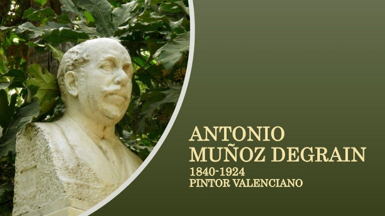 Antonio mu oz degrain 1840 1924 pintor valenciano - Pintor valenciano ...