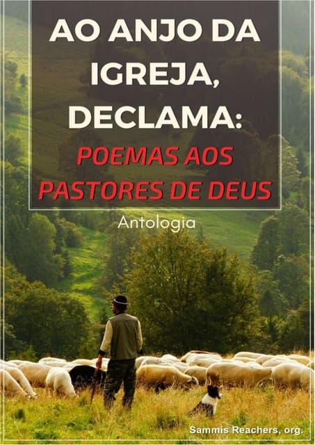 Ao Anjo da Igreja Declama: Poemas aos Pastores de Deus - Antologia Poética