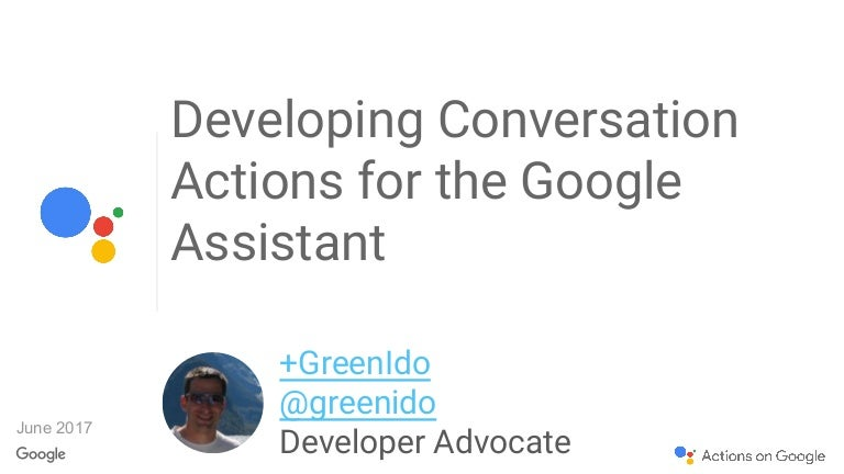 Actions On Google - How? Why?