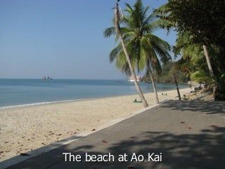 Rayong real estate attractions : Ao kai