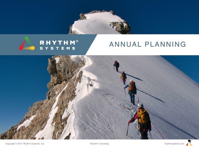 Annual Planning Slides