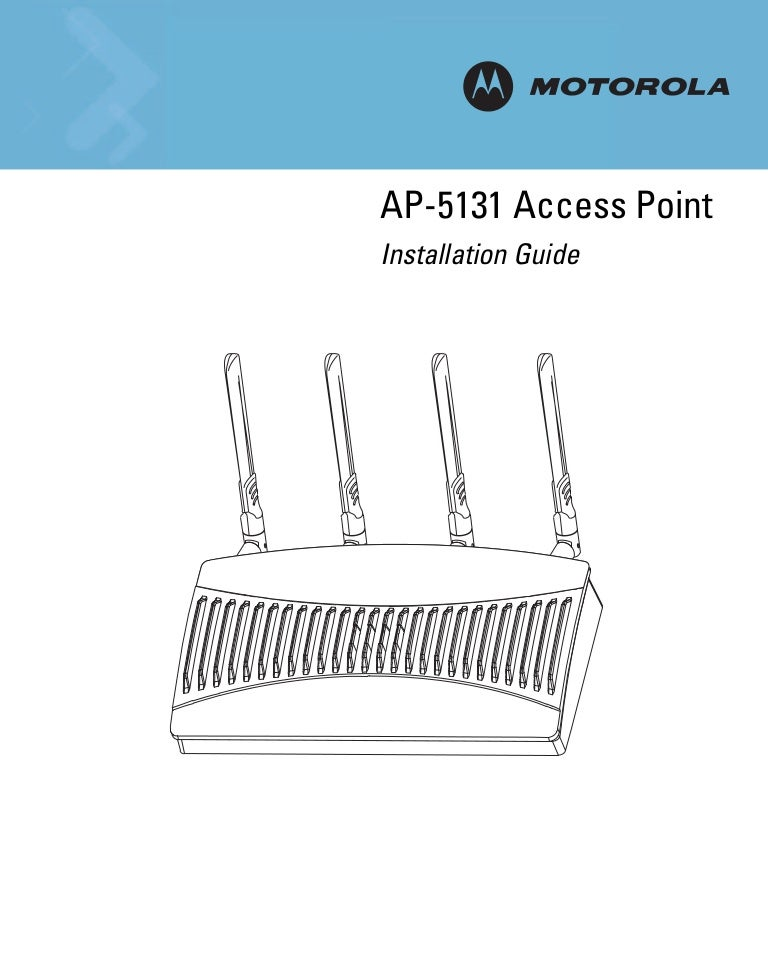 Symbol AP51xx Product Reference Manual