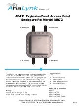New Wireless Network Access Point Enclosure for Hazardous Area