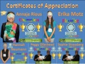 American Psychological Association 2012 Annual Convention Games To Explain Human Factors: Come, Participate, Learn & Have Fun!!! Program Certificates