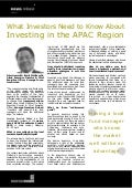 What Investors Need to Know About Investing in the APAC Region