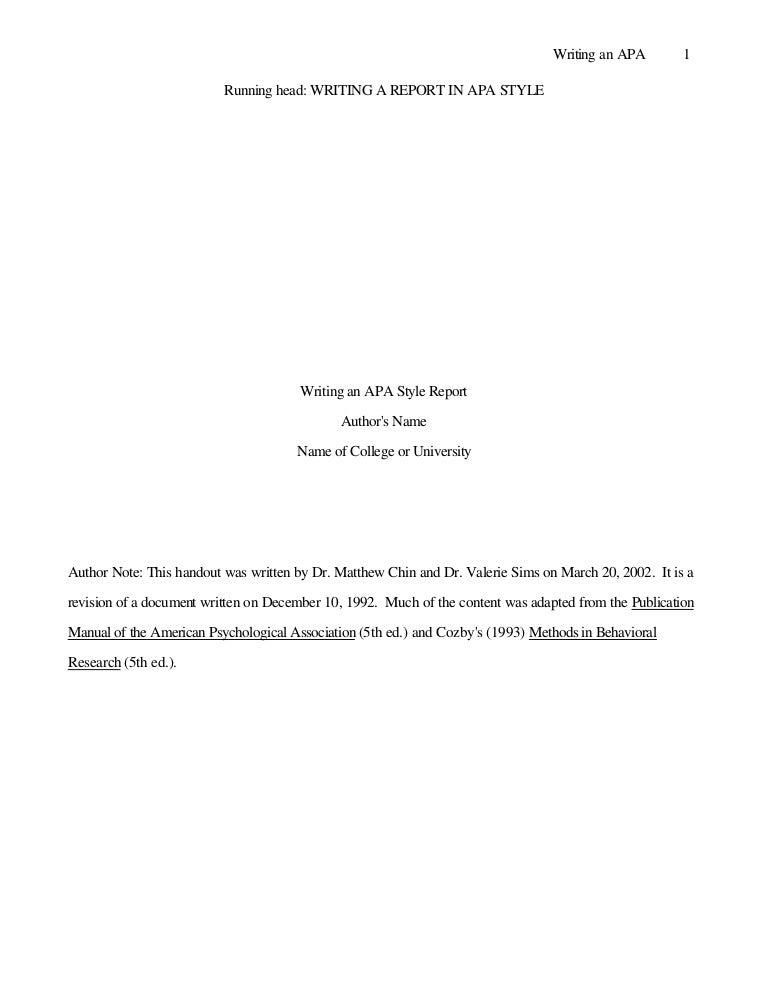 Apa citation style  th edition Writing Explained