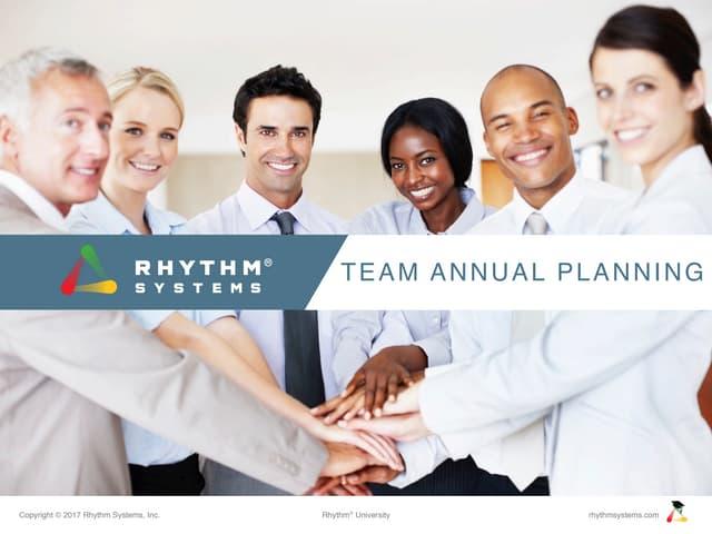 Team Annual Planning Slides