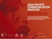 Asia-Pacific Communication Monitor 2015 / 2016