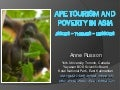 Ape tourism and poverty in Asia: issues, themes, lessons