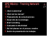 Apg training network 2012 course
