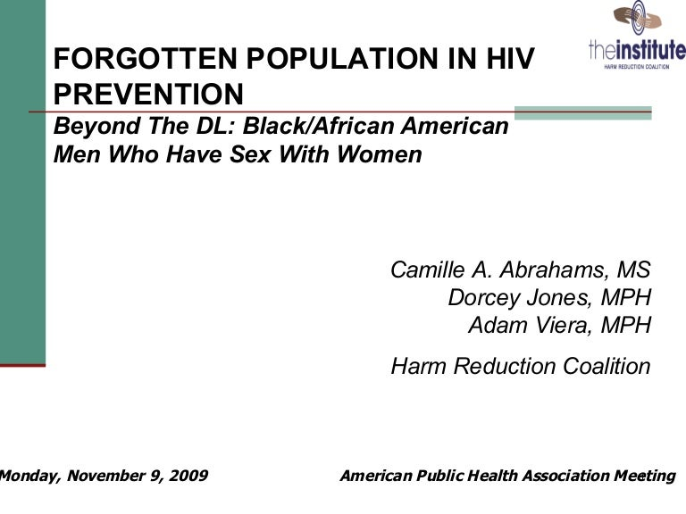 Hiv aids prevention interventions in african american heterosexuals