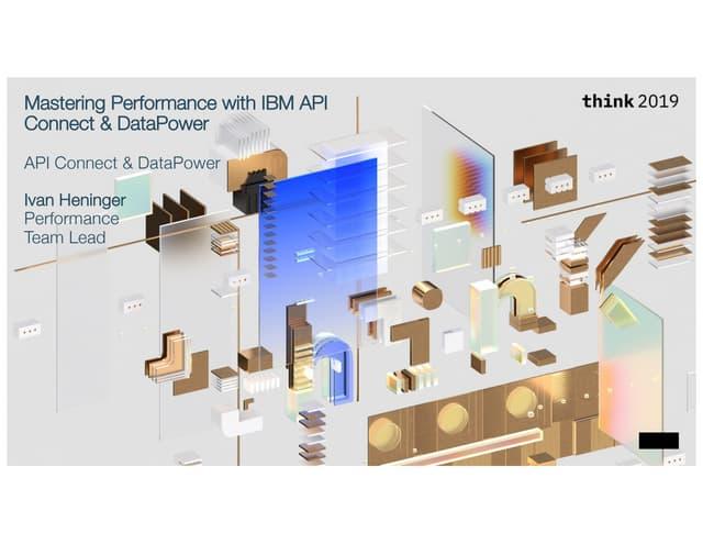 DataPower API Gateway Performance Benchmarks