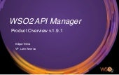 WSO2 API Manager : Going beyond the just API Management