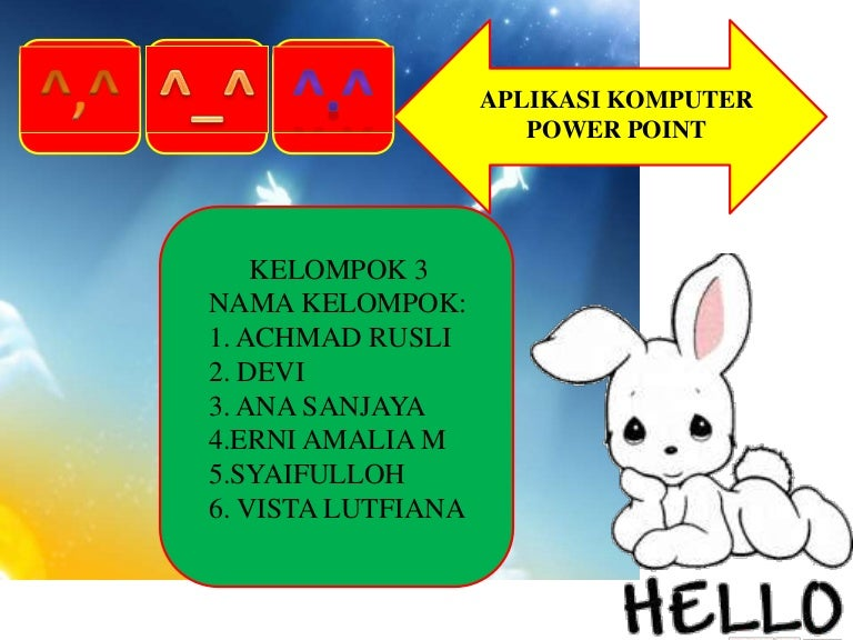 Aplikasi Komputer Powerpoint
