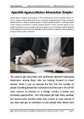 Apostille agency-makes-attestation-simpler