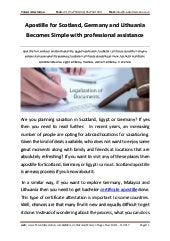 Apostille for-scotland-germany-and-lithuania-becomes-simple-with-professional-assistance