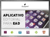 APLICATIVO EDITORIAL PARA EAD