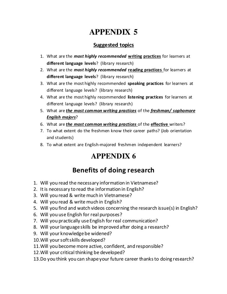 Criteria evaluation research paper