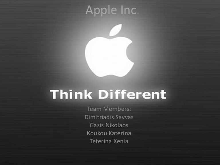 apple inc., Modern powerpoint