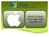 Apple Stock Predictions: What To Expect From Apple After Excellent 2Q