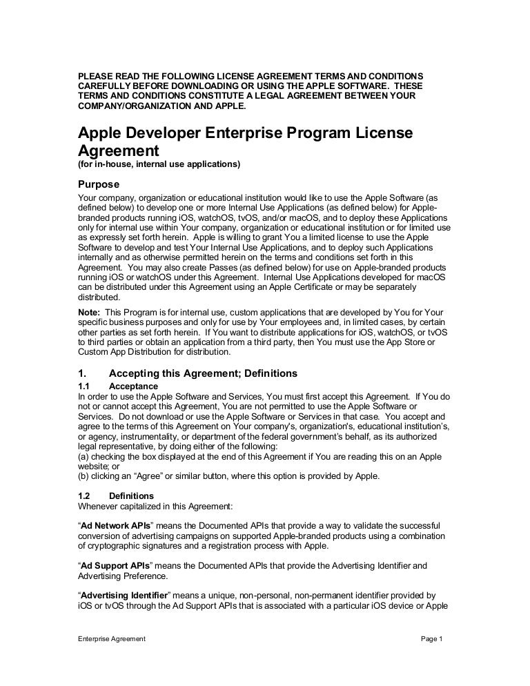 Apple Policy Prohibits Distributing Enterprise Certificate Apps To No…
