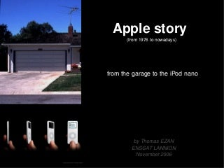 Apple Story (from 1976 to nowadays)