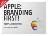 Apple: Branding First! - 12/2016