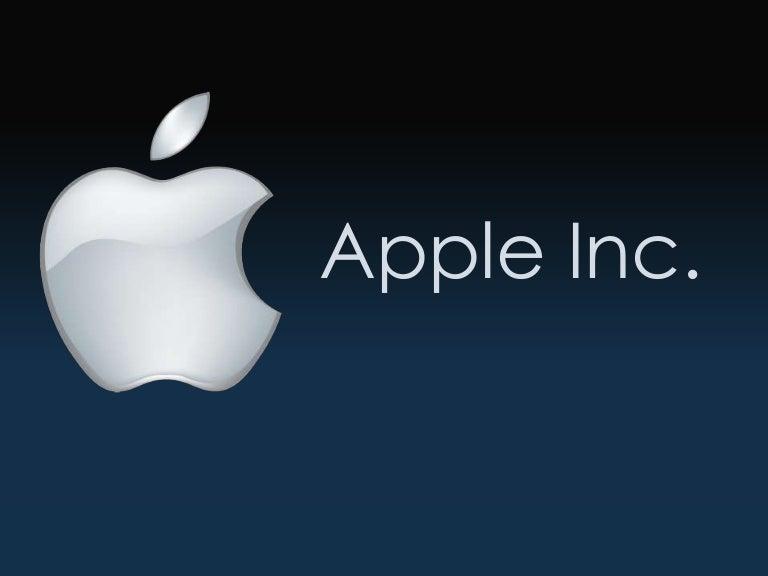 Apple inc presentatioin toneelgroepblik Images