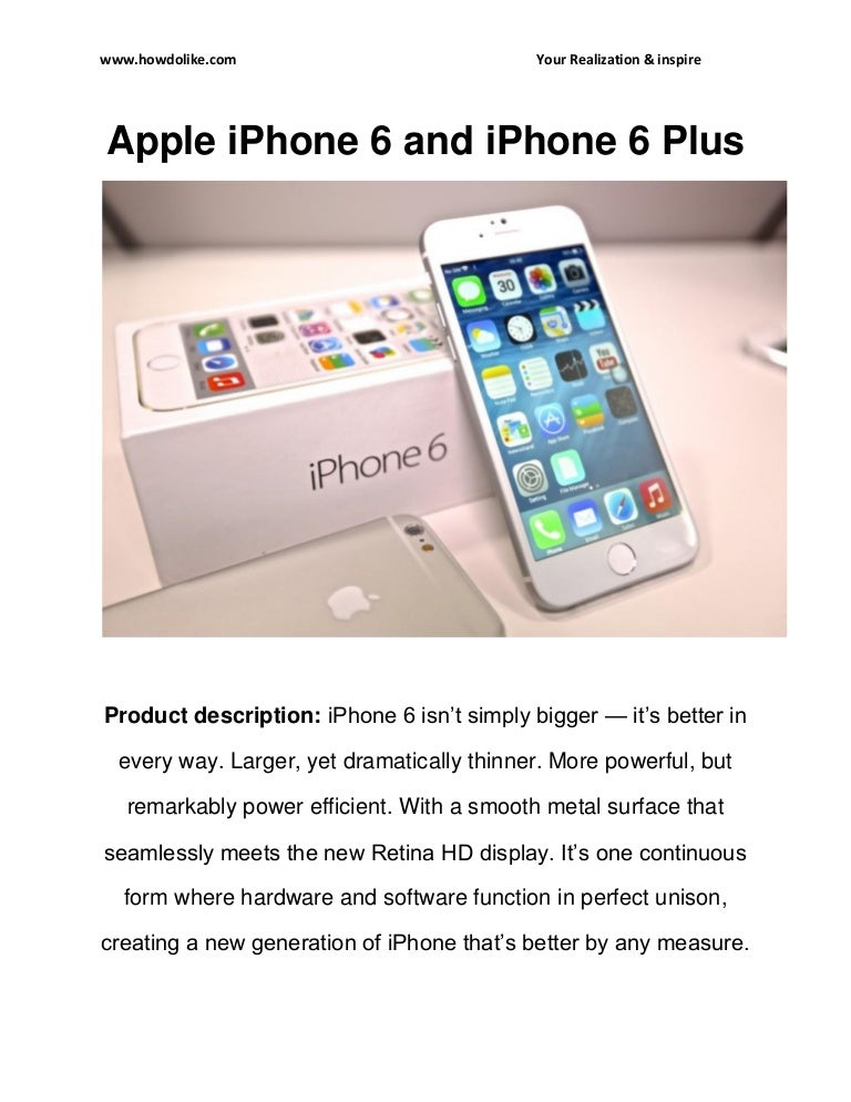 Apple iphone 6 and iphone 6 plus Full Review