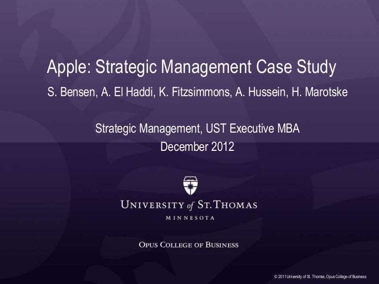 apple inc case analysis essay example Ndividual assignment) each student is to critically analyze the apple case found in baltzan, chapter 1 in particular, each student updates the case information by new research to include apple's other product lines and decides the lessons that have been learned for information systems managers, in a succinct report that includes an executive summary.