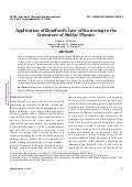 application of bradford's law of scattering Ijnglt, august 2016, volume 2 issue 3 assessment of bradford law's of scattering to neural network literature through bibliometric study zones will be in 1: n: n2, where n is a multiplier 18 and the observation of bradford later described as linear relation by brookes (1969) which is expressed as: f(x)= a+b logx where, f(x) is the.