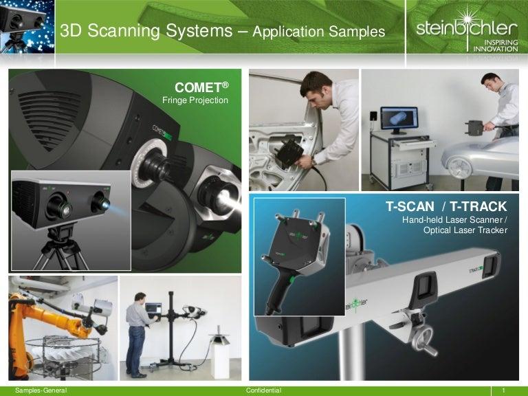 3D scanning sample applications - General - Steinbichler