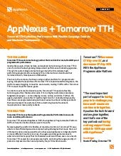 AppNexus + Tomorrow TTH Case Study