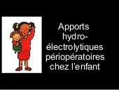 Apports Hydroelectrolytiques
