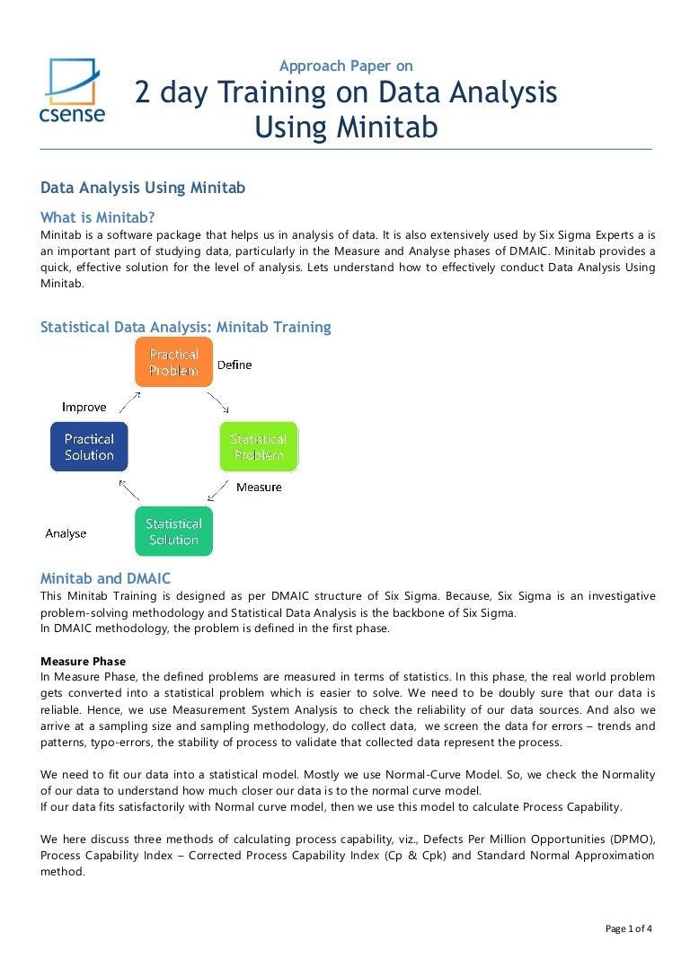 Training on data analysis using minitab in india nvjuhfo Images