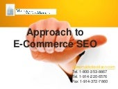 Approach to E-commerce SEO