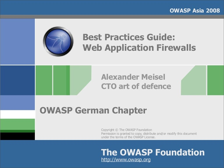Best Practices Guide: Introducing Web Application Firewalls on software license template, one page template, intranet website template, website architecture template, java applet template,