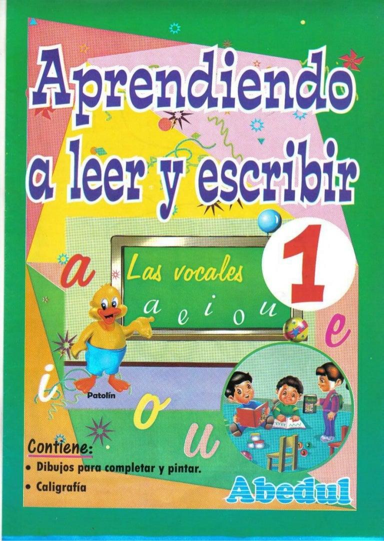 Aprendiendo A Leer Y Escribir 1  @tataya.com.mx