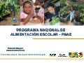Brazil's National School Feeding Programme