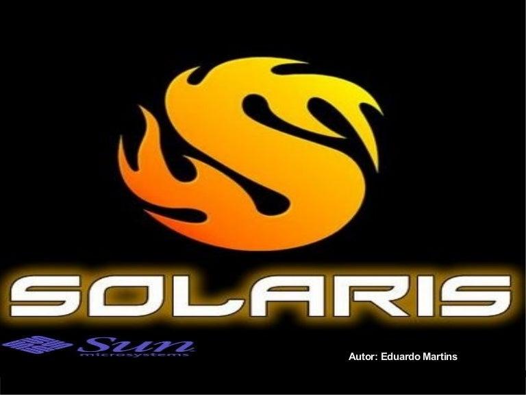 OPERACIONAL SOLARIS SISTEMA BAIXAR