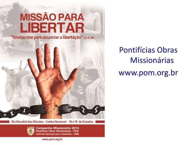Apresentação Campanha Missionária 2014