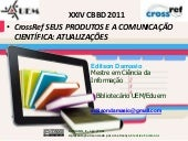 CrossRef : actualizations