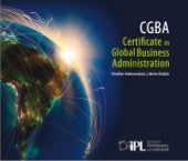 Certificate in Global Business Administration