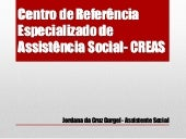 Jornada de estudos da SEMASC / Baraúna - CREAS