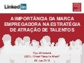 Apresentação Great Place to Work Institute