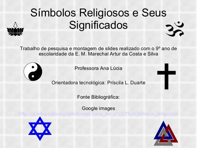 Preferência Apresentação simbolos religiosos RE15