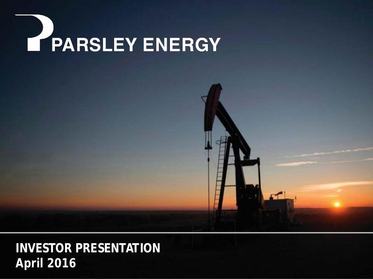 April Investor Presentation