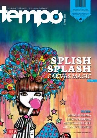 TEMPO Magazine April 2013 Issue